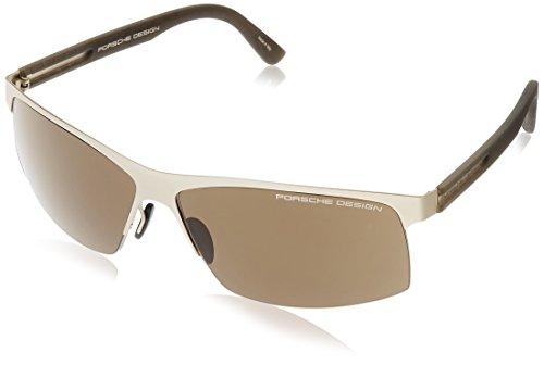 Porsche Design - Gafas de sol - para hombre Dorado matt gold - grau 32 W/34 L