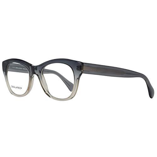 Dsquared DQ5106 49020 Dsquared2 Optical Frame DQ5106 020 49 Schmetterling Brillengestelle 49, Grau