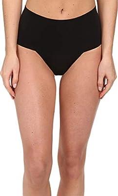 Spanx Women's Undie-Tectable Thong Black Thongs LG