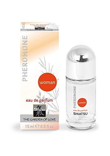 SHIATSU Pheromone Eau De Parfum Woman, 15 ml