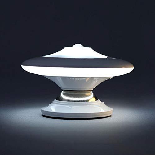 360 Grados Rotación Cuerpo Humano Inducción Noche Luz LED Control USB Carga Inducción Lámpara De Mesa
