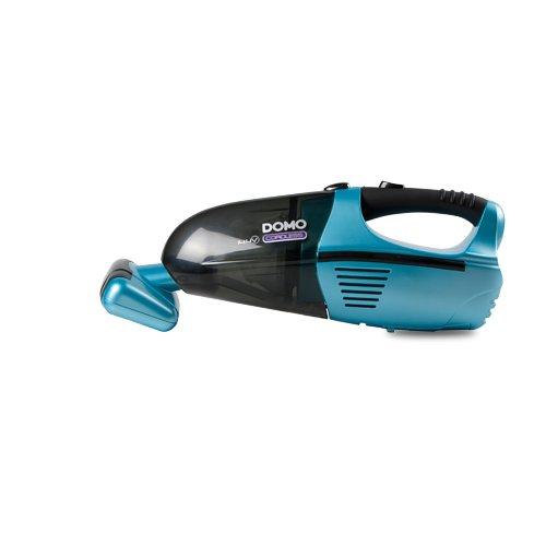 Domo DO211S Handstaubsauger mit motorisierter XL Rollbürste, kabelloser Staubsauger für Tierhaare, Fussel oder Krümel