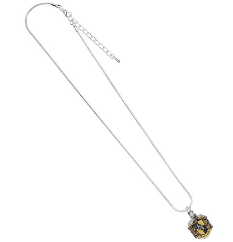 Official Harry Potter Jewellery Hufflepuff Crest Necklace