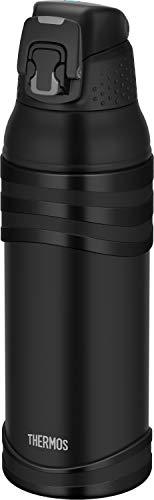 サーモス 水筒 真空断熱スポーツボトル 1L マットブラック 保冷専用 FJC-1001 MTBK