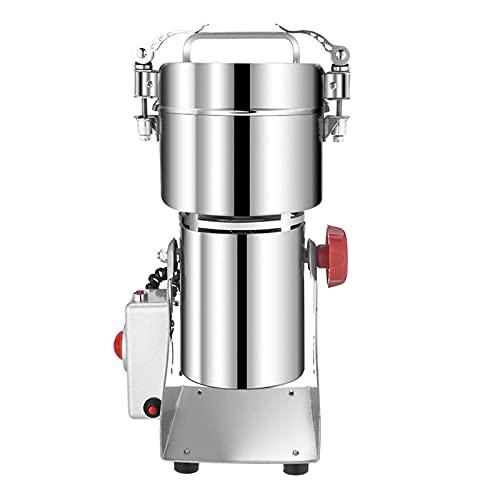 Roestvrijstalen elektrische koffiemolen machinekorrel kruiden molen geneeskunde tarwemeel mixer droge voedselmolen voor…