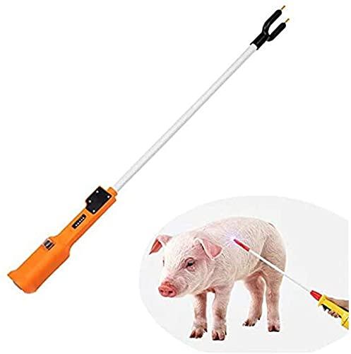 Elektroschocker Pistole Viehtreiber Für Vieh Rinder Schafe Pferde Und Andere Tiere Waffe Schlagstock Schocker USB-Aufladung 55CM