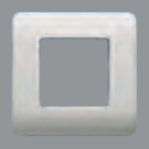 Bjc sol - Placa 2 elementos con bastidor sol-teide plata