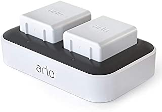 Arlo Technologies Arlo Accessory - Arlo Ultra Dual Charging Station | Charge up to Two Batteries | Compatible with Arlo Ul...