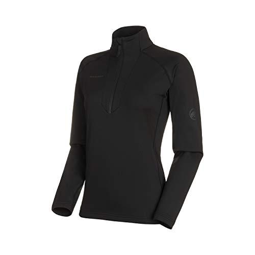 Mammut Damen Snow Half Zip Midlayer Pullover mit Reissverschluss, Black, M