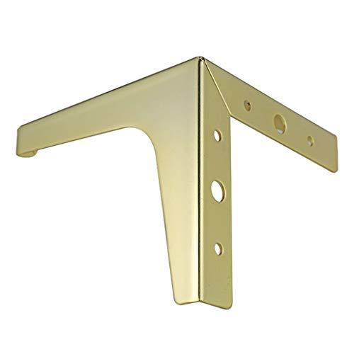 4 Stuks Golden Metal Meubelpoten, Kabinet Voeten Triangle Vormige Slaapbank Tafelpoot Furniture Voeten Hardware Accessoires (Color : 150 mm height)