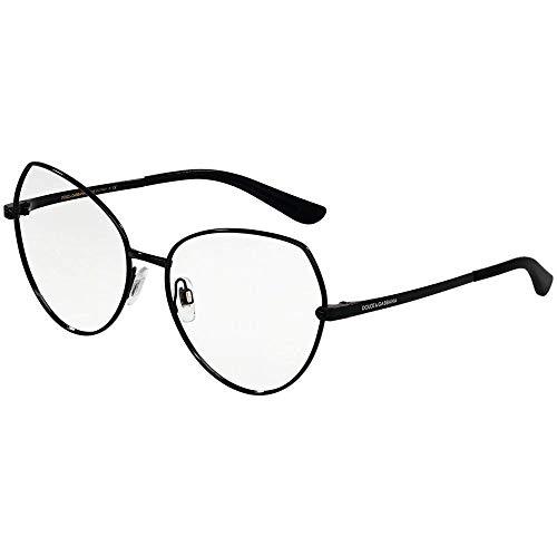 Dolce & Gabbana 0DG1320 Monturas de gafas, Black, 55 para Mujer