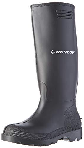 Gummistiefel RANGER Arbeitsstiefel PVC Stiefel Berufsstiefel schwarz, Schuhgröße:36