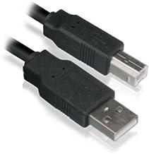 2M Cable de Impresora / USB 2.0 Imprimir Plomo / Negro A-B