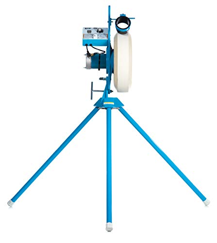Jugs MVP Combo Pitching Machine is Designed specifically for Pitching-Machine Leagues, Higher Speed Range—up to 60 mph! Set up for Either Baseball or Softball.