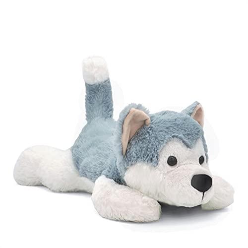Landahl & Baumann Peluche de perro tumbado de 47 cm, de suave peluche
