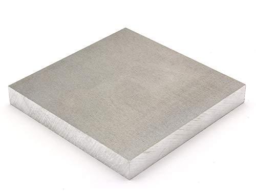 Aluminium platen 4 mm, 160 mm breed, ongefolieerd - op maat te snijden tot 200 mm (23,50 EUR/m2 + 0,25 EUR per snede, min. 2,50 euro, 610mm, 1