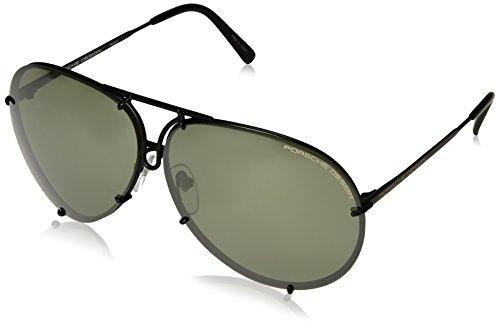 PORSCHE DESIGN P8478 D Sunglasses P'8478 Black Matte Frame