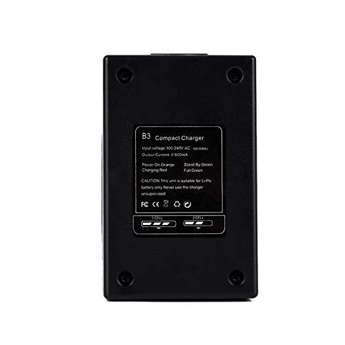 ACHICOO Ausgleichsladegerät, RC Toy B3 10W Einfaches Ausgleichsladegerät 2s-3s Lithium-Akku 7,4 V 11,1 V Pro Kompaktladegerät B3AC USA Langlebig und praktisch