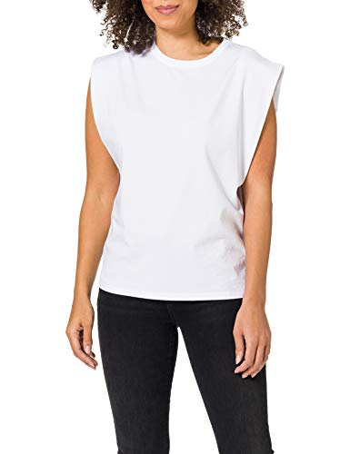 BOSS C_Elys 10234471 01 Camiseta, White100, M para Mujer