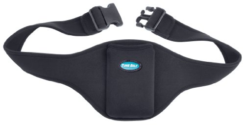 Tune Belt Mic Belt - Microphone Holder Pack - The Original Brand - Carrier Pouch Securely Holds and Protects for Fitness Instructors, Theater, Speakers and more