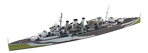 青島文化教材社 1/700 ウォーターラインシリーズ No.811 イギリス海軍 重巡洋艦 ケント プラモデル