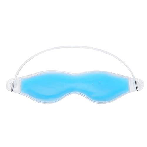 Mascarilla de gel para ojos Paquete de compresas frías y calientes Terapia ocular Gel de enfriamiento con hielo reutilizable Mascarilla para los ojos para dormir Mascarilla para quitar ojeras