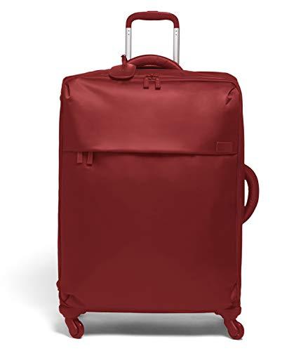 Lipault - Trolley Originale Plume Spinner 72/26 - Bagaglio Taglia Grande con Ruote - Cherry Red