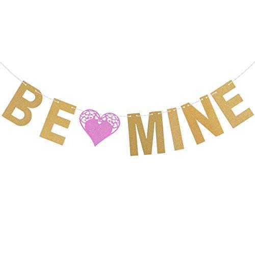 BESTOYARD BE MIJN Brief Bunting Banners Garland Bruiloft Valentijnsdag Verjaardag Bruiloft Douche Huwelijk Voorstel Romantische Decoraties Photo Prop Party benodigdheden