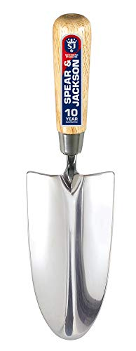 Spear and Jackson 3010TR Neverbend Stainless Steel Hand Trowel