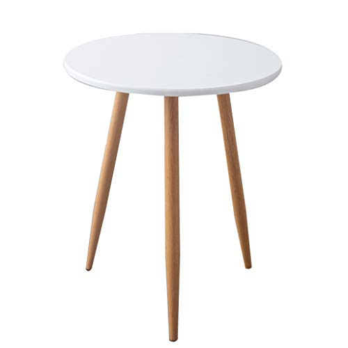 ZWD kleine ronde tafel, slaapkamer balkon klein tafeltje theestube café eettafel hout imitatie statafel meubel