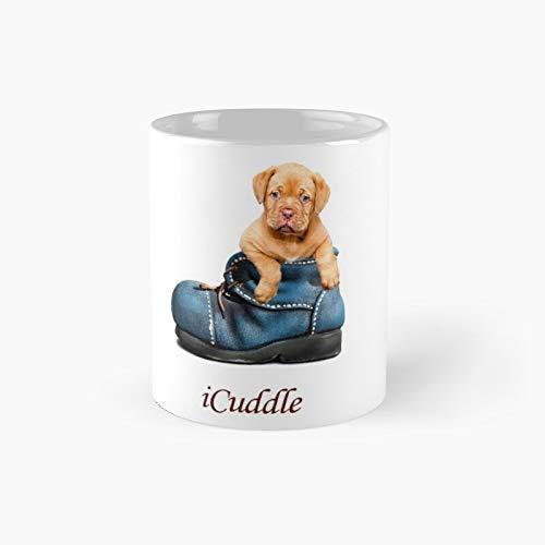 Adorable taza clásica de Icuddle Mastín francés   El mejor regalo divertidas tazas de café de 11 oz
