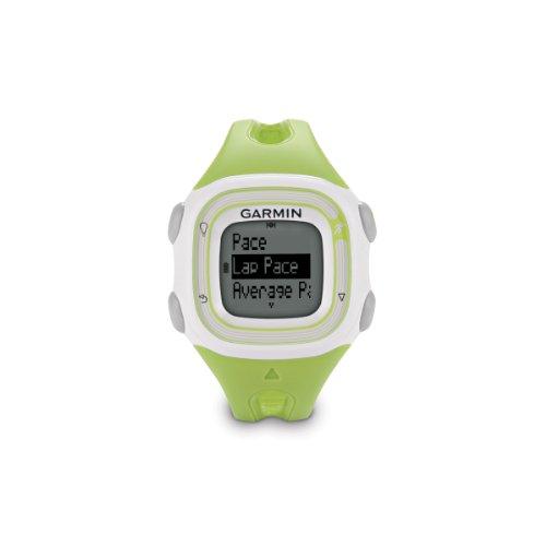 Garmin Forerunner 10 GPS Watch (Green/White)