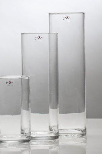 Sandra Rich - Runde Vase 9x25he.9