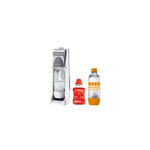 SODASTREAM - Pack Machine a soda COOL Titan + 1 Concentré cola + 1 bouteille Grand modele PET