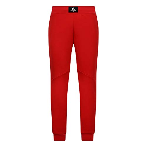 Le Coq Sportif Ess Pant Tapered Uni N°1 M – Pantaloni da Uomo, Uomo, Pantaloni, 1922485_M, Rosso Puro, M