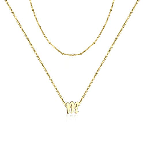(60% OFF Coupon) Initial Necklace 14K Gold  $4.00