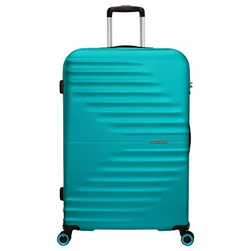Trolley Rigido 77 cm 4 Ruote Grande | American Tourister Wavetwister | MA0003-Aqua Turquoise