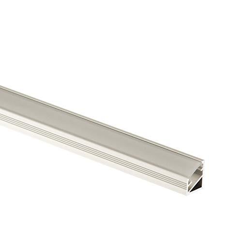 CEZAR W-AL-LWP35-T-090 Schutzleiste///Übergangsschiene///Übergangsprofil flach mit Laminat//Holzdekor Teak mit D/übeln 35mm,