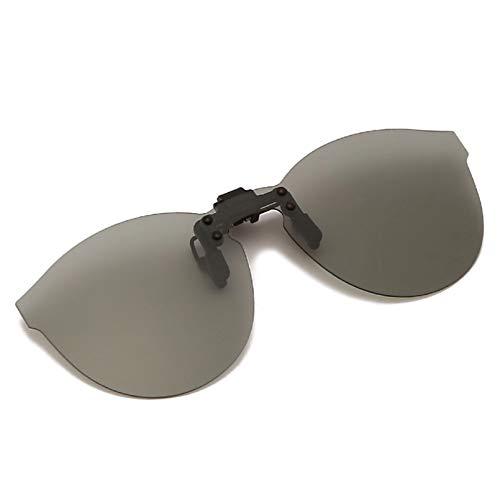 SUIBIAN Lente polarizada abatible con Clip para Gafas graduadas, Mujeres, Hombres, protección UV400, Gafas de Sol sobre anteojos