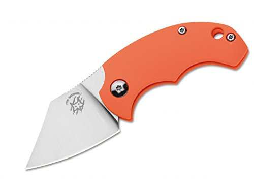 Fox Knives Dragotac BB Taschenmesser Orange, Klingenlänge: 4,5 cm, 01FX116
