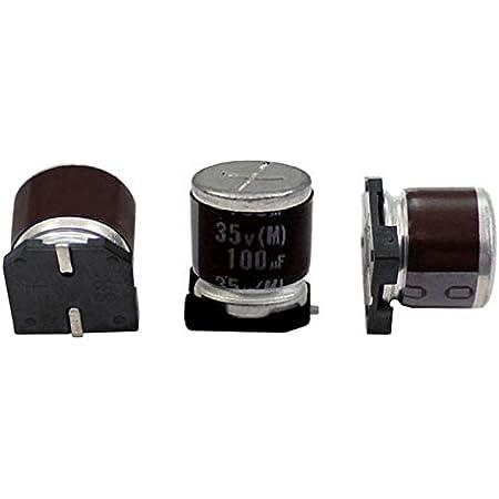 10x Smd Elko Kondensator 100µf 35v 125 C Rvt 35v101mh10ztq R2 D10x10mm 100uf Beleuchtung