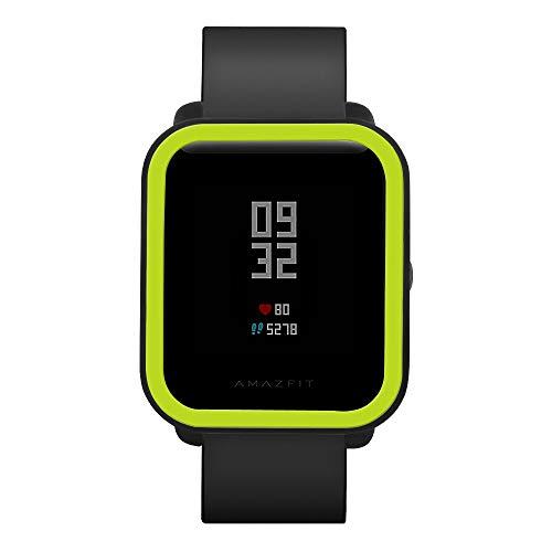 Saisiyiky Protector suave Funda Compatible con bip youth, PC Funda de protección smartwatch (verde)