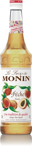 Monin Peach Syrup, 700ml