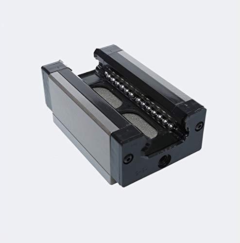 NO LOGO 2ST BRC20LR BRC25LR BRH20BL BRH25BL Gleitstückblock Linearschiene Führungslager for CNC-Fräser-3D-Drucker (Größe : BRC25LR)