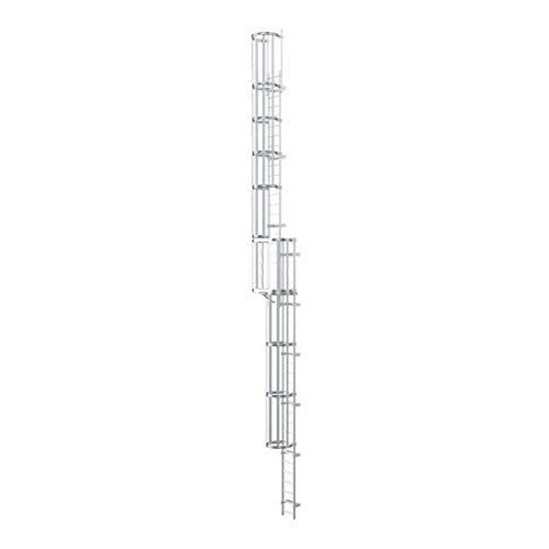 Zarges escalera de acero galvanizado 19,10 M