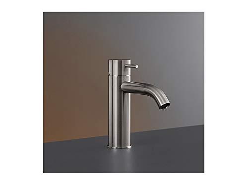 CEA Milo360 rubinetto lavabo monocomando MIL16-Acciaio Satinato