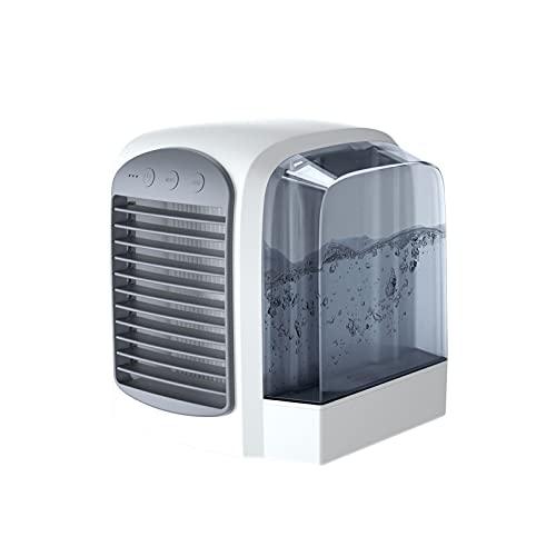 QYYYUNDING USB Aire Acondicionado de Tres en uno, Tanque de Agua de Gran Capacidad, silencioso, Ventilador de Aire Acondicionado de refrigeración rápida de Tres velocidades para Escritorio