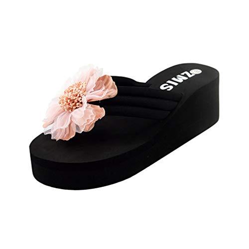 Dames Volwassenen Flip U teenslippers zomer bloemen home strand schoenen sandalen flip flops slippers By Vovotrade