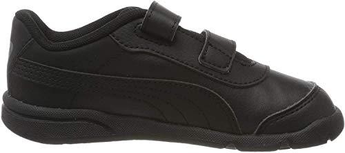 PUMA Unisex Baby Stepfleex 2 Sl Ve V Inf Sneakers, Schwarz Black Black, 22 EU