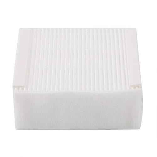 Filtro de espuma refrescante, filtro de espuma fuerte y resistente, para capturar partículas, accesorio de aspiradora hecho de espuma (blanco, azul)